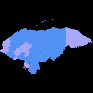 mapa hn